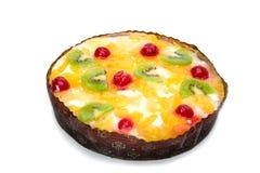 расстегай плодоовощ коттеджа сыра Стоковое Изображение
