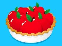 Расстегай плодоовощ Apple иллюстрация вектора
