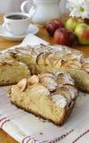 Расстегай с яблоками и циннамоном Стоковое Фото