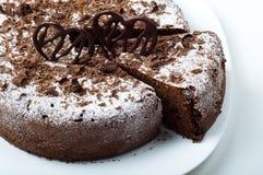 расстегай шоколада Стоковая Фотография