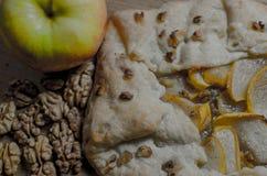 расстегай яблока вкусный Стоковые Фотографии RF