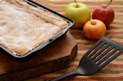 расстегай яблока домодельный стоковые фотографии rf
