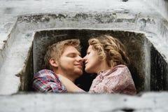 Расстояние поцелуя Стоковое Изображение RF