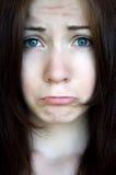 Расстроенная девушка Стоковые Фотографии RF