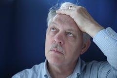 расстроенный бизнесмен Стоковая Фотография RF