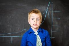 расстроенный бизнесмен Стоковое Фото