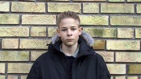 Расстроенный мальчик сток-видео