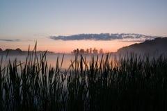 рассчитает поминутно восход солнца Стоковое Изображение RF