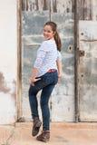 Расслабленная девушка 9 Стоковые Фотографии RF