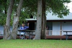 Расслабленный человек 92 yr старый старший Стоковая Фотография RF
