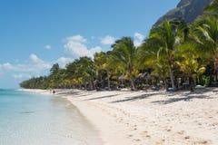 Расслабляющие праздники в тропическом рае Остров Маврикия Стоковые Фотографии RF