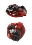 Расслоина одичалого варенья ягод Стоковое фото RF