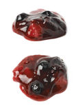 Расслоина одичалого изолированного варенья ягод Стоковые Изображения