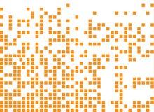 Растворенный заполненный поставленный точки квадратом значок вектора иллюстрация вектора