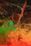 растворяя чернила падений Стоковые Фотографии RF