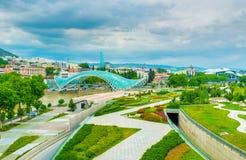 Растительность в старом Тбилиси Стоковое фото RF