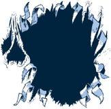 Растрепанная предпосылка вектора отверстия срывая Стоковые Фотографии RF