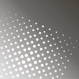 Растр искусства шипучки Предпосылка серой радуги и белых точек Тени черноты Иллюстрация штока