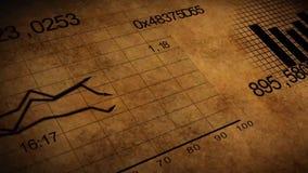 Растущая анимация диаграмм иллюстрация вектора