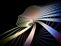 Растущая геометрия души Стоковое Изображение