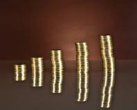 Растущее дело, деньги, экономика Стоковое Изображение RF