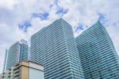 Растущий центр города II Стоковые Изображения RF