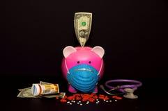 расходы медицинские Стоковое Изображение