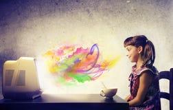Расцветка TV стоковое изображение rf
