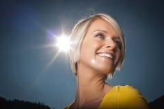 Расцелуйте Солнце Стоковое Фото