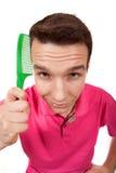 расчесывает волос Стоковое фото RF