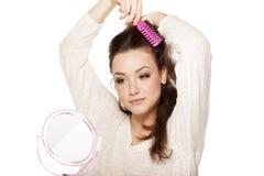 Расчесывать волос стоковое изображение