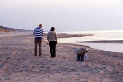 расчесывать пляжа Стоковое Фото