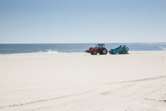 расчесывать пляжа стоковые изображения