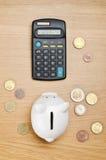 Расчетливые сбережения Стоковое Изображение RF
