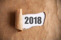 2018 расчехленных год стоковые изображения