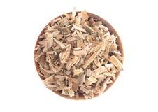 Расшива вербы травы найдена в природе и использована целебно для стоковая фотография