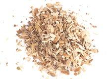 Расшива вербы травы найдена в природе и использована целебно для стоковые фото