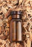Расшива вербы травы найдена в природе и использована целебно для стоковое изображение