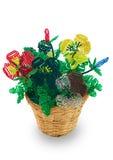 расшива отбортовывает вазу стекла цветков березы Стоковые Фото