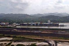 Расширение IX Панамского Канала Стоковые Изображения RF