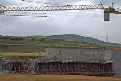 Расширение XII Панамского Канала Стоковые Изображения