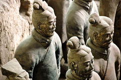 ратники глины Стоковое Изображение RF