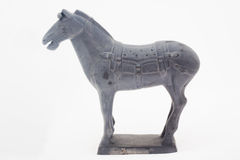 Ратники и лошади Terracotta Стоковые Изображения