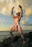 Ратники острова пасхи Стоковые Фото