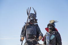 Ратники самураев Стоковое фото RF