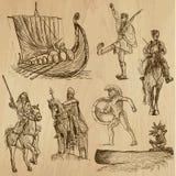 Ратники no.4 иллюстрация вектора