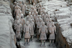 ратники xian terracotta фарфора Стоковая Фотография