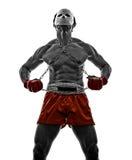 Ратник гладиатора бойца видеоигр Mangas Стоковая Фотография