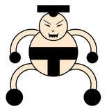 Ратник игрока Sumo Стоковые Фотографии RF