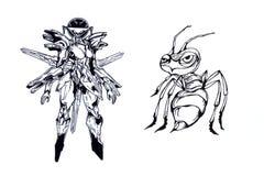 ратник муравея Стоковые Фото